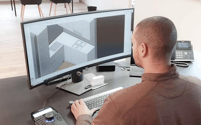 CAD Planung der Küche