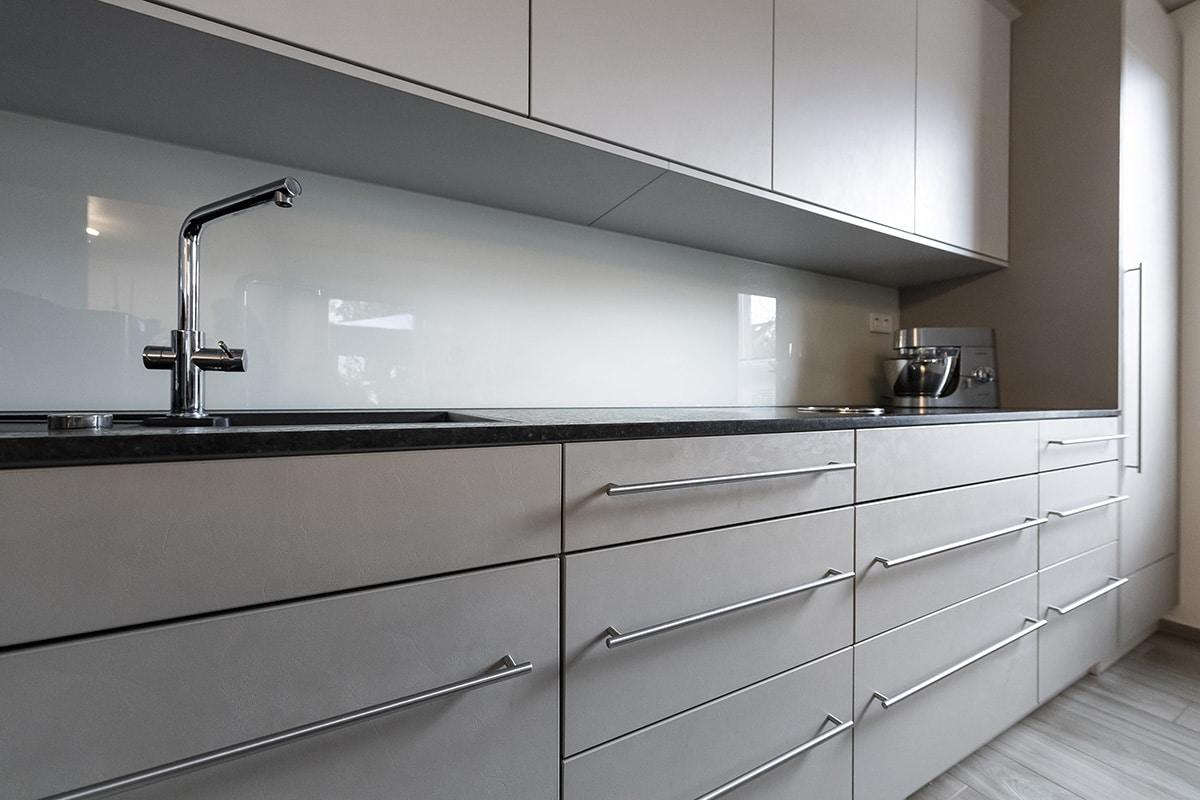 Schreinerei Ludwigsburg Weyfra Küche nach Maß Arbeitsflaeche Ansicht 1